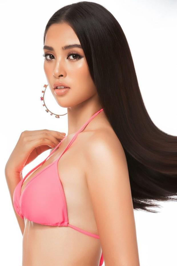 Tiểu Vy tung trọn bộ ảnh bikini, khoe body gợi cảm tuổi 18 trước thềm chung kết Miss World - Ảnh 1.