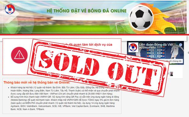 Chính thức bán hết vé online trận Việt Nam vs Philippines tại bán kết AFF Cup 2018 - Ảnh 1.
