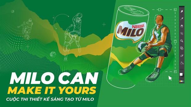 Nhìn lại những con số dịch chuyển, những tác phẩm ấn tượng từ cuộc thi thiết kế hoành tráng MILO Can Make It Yours! - Ảnh 3.