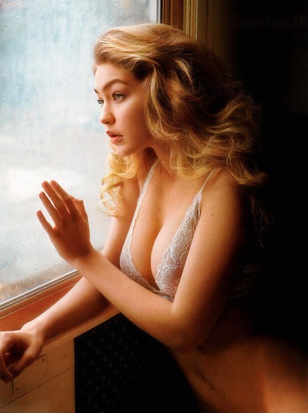 Nhan sắc gây mê mệt của Gigi Hadid: Ngực đẹp tự nhiên, bụng không nếp gấp, đến phong cách cũng chất phát ngất - Ảnh 4.