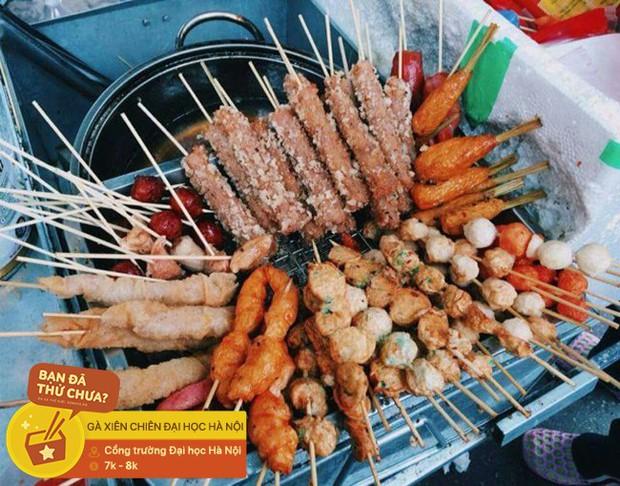Loại xiên nướng rất ít nơi bán ở Hà Nội mà không phải ai cũng từng ăn, thật may giờ đã có tới 4 địa chỉ cho bạn tìm mua - Ảnh 10.