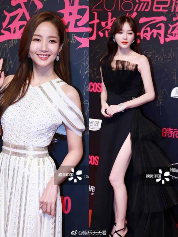Chùm ảnh không photoshop: Dương Mịch lộ nếp nhăn, Park Min Young - Tần Lam có đẹp như tưởng tượng? - Ảnh 13.