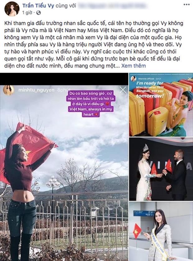 Hành động đẹp của Tiểu Vy dành cho Minh Tú, HHen Niê dù sắp bước vào giai đoạn nước rút tại Miss World 2018 - Ảnh 1.