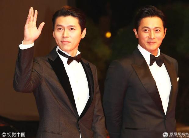 Jang Dong Gun và Hyun Bin kém 10 tuổi trong 1 khung hình: Thời gian cũng phải chịu thua trước 2 cực phẩm quý ông - Ảnh 6.