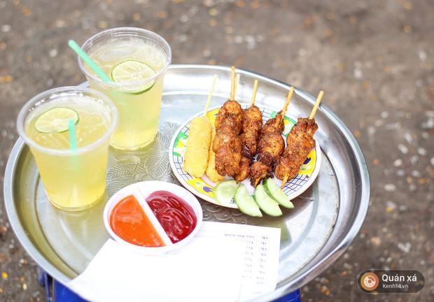 Loại xiên nướng rất ít nơi bán ở Hà Nội mà không phải ai cũng từng ăn, thật may giờ đã có tới 4 địa chỉ cho bạn tìm mua - Ảnh 2.