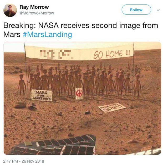 Hay tin NASA đưa tàu thăm dò lên Hỏa Tinh, dân mạng mở ngay cuộc thi chế meme ngoài vũ trụ - Ảnh 3.