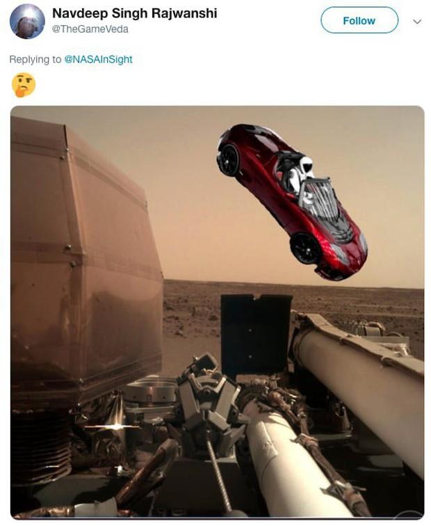 Hay tin NASA đưa tàu thăm dò lên Hỏa Tinh, dân mạng mở ngay cuộc thi chế meme ngoài vũ trụ - Ảnh 5.