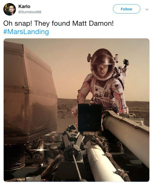 Hay tin NASA đưa tàu thăm dò lên Hỏa Tinh, dân mạng mở ngay cuộc thi chế meme ngoài vũ trụ - Ảnh 10.