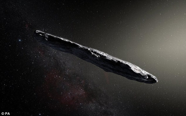 Còn nhớ tảng thiên thạch hình điếu cigar này chứ? Chuyên gia Harvard tin rằng nó là tàu thăm dò của người ngoài hành tinh - Ảnh 1.