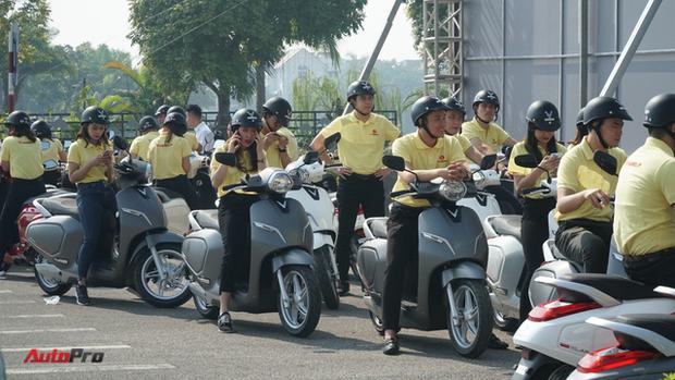 Xe máy điện VinFast chạy thử ở Hà Nội - Ảnh 3.