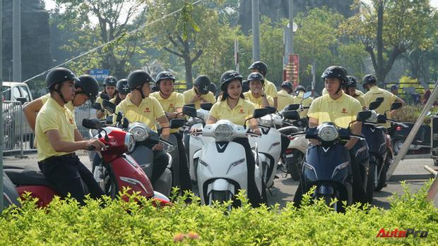 Xe máy điện VinFast chạy thử ở Hà Nội - Ảnh 4.