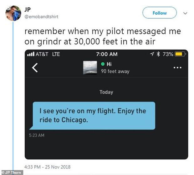 Mỹ: Phi công nhắn tin gạ tình hành khách nam khi đang bay ở độ cao hơn 9000km - Ảnh 1.