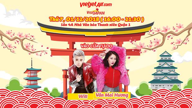 """5 lý do không thể bỏ lỡ sự kiện hoành tráng """"Vietjet Visit Japan"""" - Ảnh 3."""