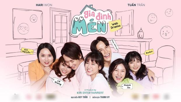 Hai cô em gái ruột của vợ chồng Hari Won - Trấn Thành góp mặt web drama mới Gia Đình Mén - Ảnh 5.