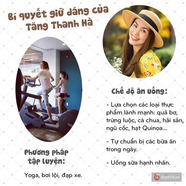 Xem Instagram của Tăng Thanh Hà học tập bí quyết để luôn tươi trẻ, thon gọn - Ảnh 8.