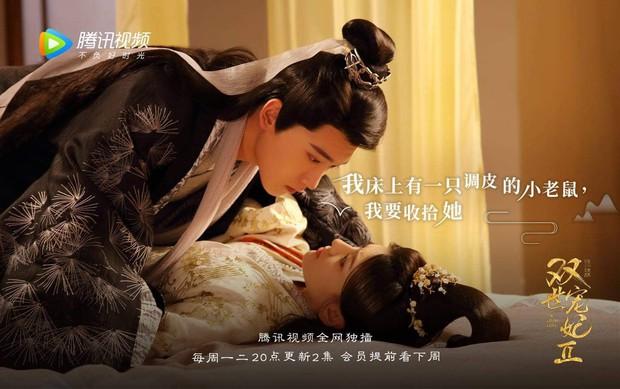 Chỉ sau 12 tập công chiếu, điểm số douban của Song Thế Sủng Phi 2 tăng vọt, bỏ xa phần 1 ở phía sau - Ảnh 2.