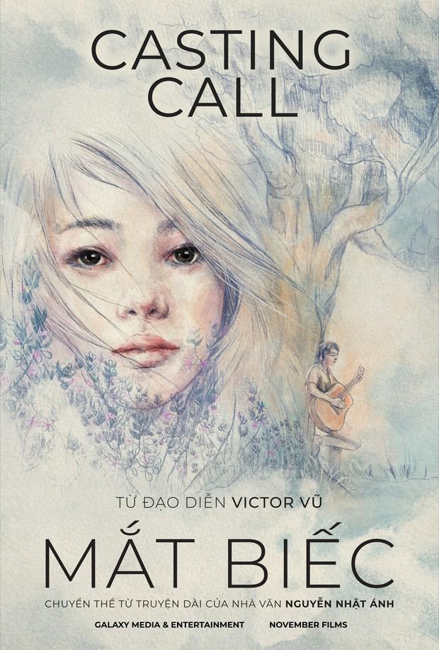 Người Bất Tử còn đang chiếu, đạo diễn Victor Vũ đã truy lùng nàng thơ cho dự án mới Mắt Biếc - Ảnh 1.