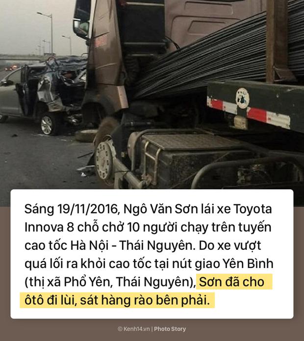Toàn cảnh vụ xe container đâm nát đuôi xe Innova đang đi lùi trên đường cao tốc, làm 6 người thương vong - Ảnh 1.