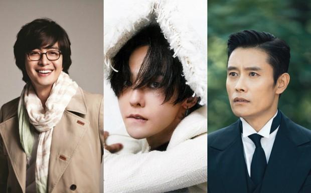 """Bae Yong Joon, G-Dragon, Lee Byung Hun: 3 tài tử """"sát gái"""" nhất Kbiz - Ảnh 15."""