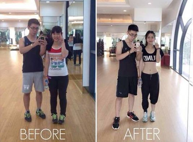Gái xinh phòng gym lộ ảnh thời nặng đến 63kg, thừa nhận đã dao kéo trên gương mặt - Ảnh 4.