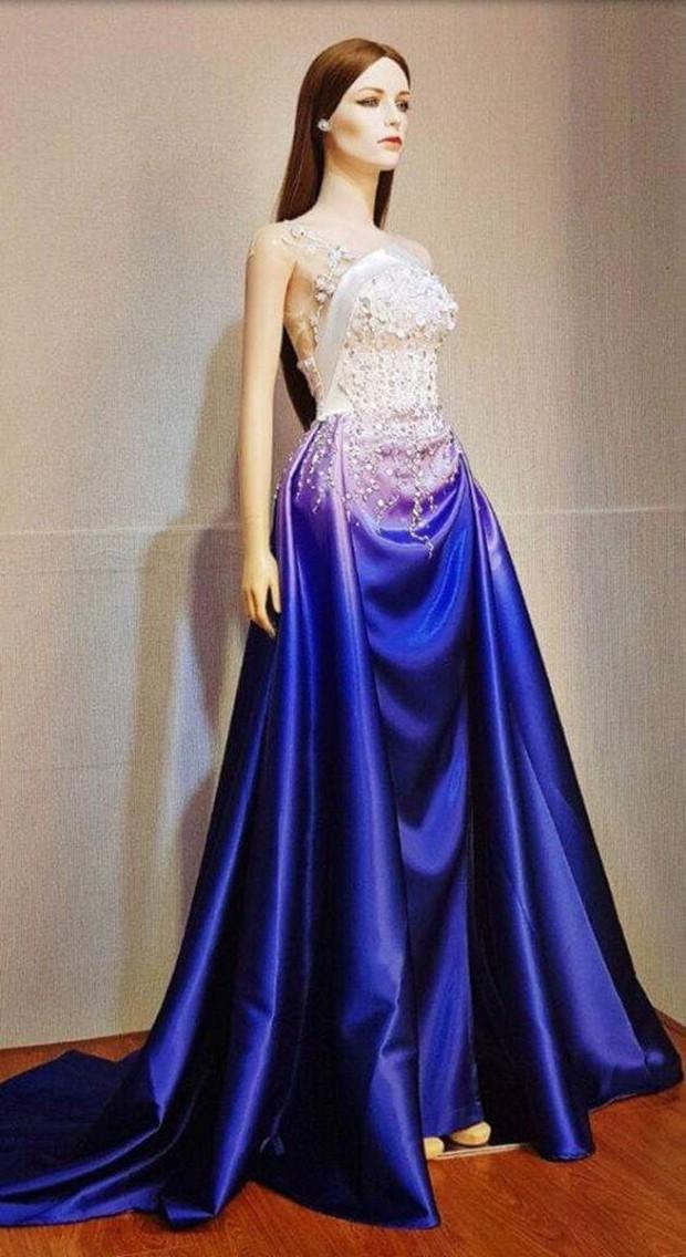 Miss International 2018: Thùy Tiên lộ trang phục dạ hội lộng lẫy - Ảnh 1.