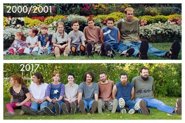 15 tấm hình Ngày ấy - Bây giờ cho thấy nhiều người già đi nhưng độ lầy lội bất biến theo thời gian - Ảnh 21.