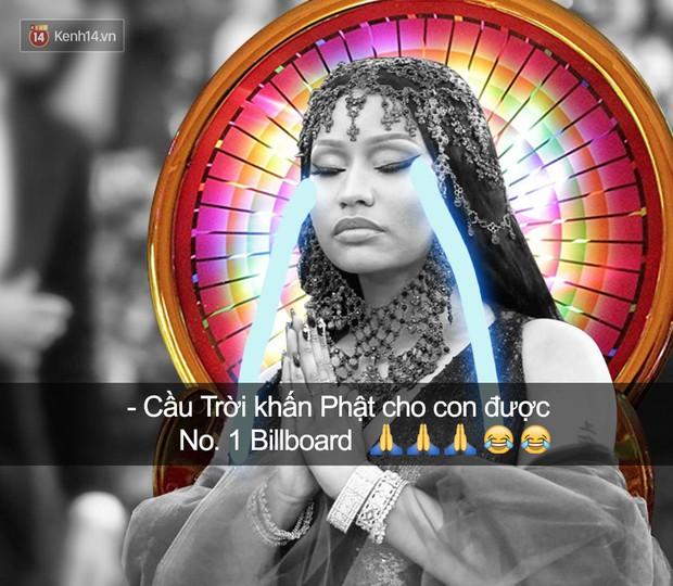 Tin vui là Nicki Minaj có 100 bài hát lọt Billboard Hot 100, còn tin buồn là chả bài nào được No.1 cả - Ảnh 2.