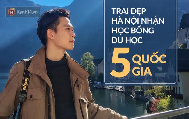 Cậu bạn Hà Nội đẹp trai, giành học bổng du học 5 nước, là thủ khoa đầu vào và tốt nghiệp ĐH với số điểm cao nhất - Ảnh 1.