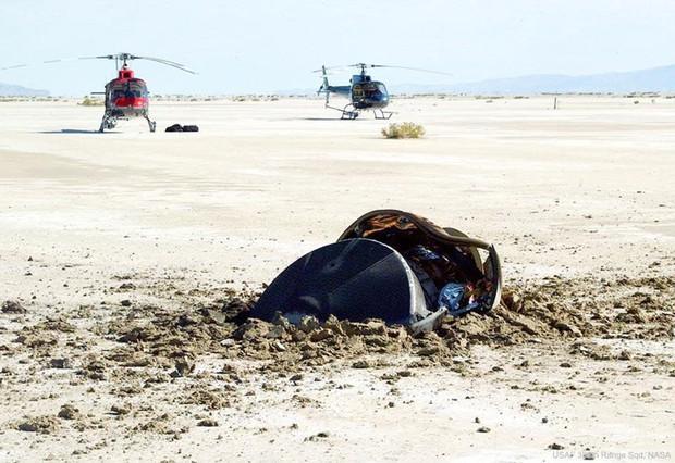 Sự thật vật thể lạ nghi đĩa bay gặp nạn, lao xuống sa mạc Mỹ - Ảnh 1.