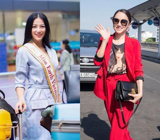 Đăng quang Hoa hậu tại 2 cuộc thi nhan sắc Quốc tế, style Phương Khánh và Hương Giang có khá nhiều điểm chung thú vị - Ảnh 1.