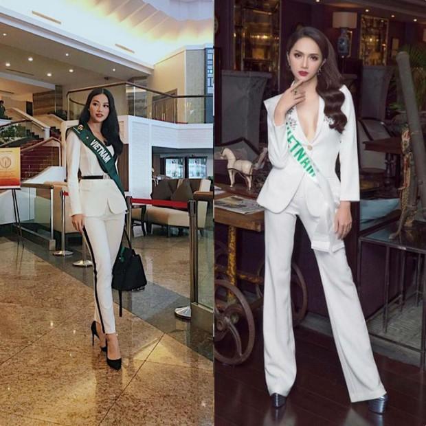 Đăng quang Hoa hậu tại 2 cuộc thi nhan sắc Quốc tế, style Phương Khánh và Hương Giang có khá nhiều điểm chung thú vị - Ảnh 2.