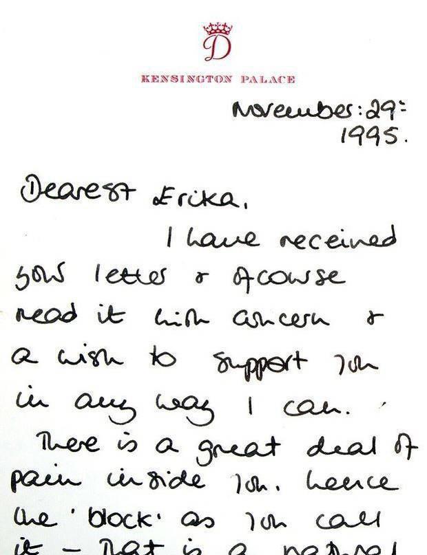 Bức thư xúc động của Công nương Diana sau cuộc phỏng vấn thừa nhận chồng ngoại tình sẽ có ánh sáng ở cuối đường hầm - Ảnh 1.