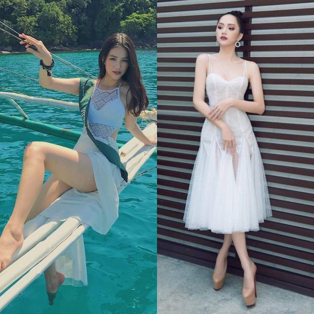 Đăng quang Hoa hậu tại 2 cuộc thi nhan sắc Quốc tế, style Phương Khánh và Hương Giang có khá nhiều điểm chung thú vị - Ảnh 4.