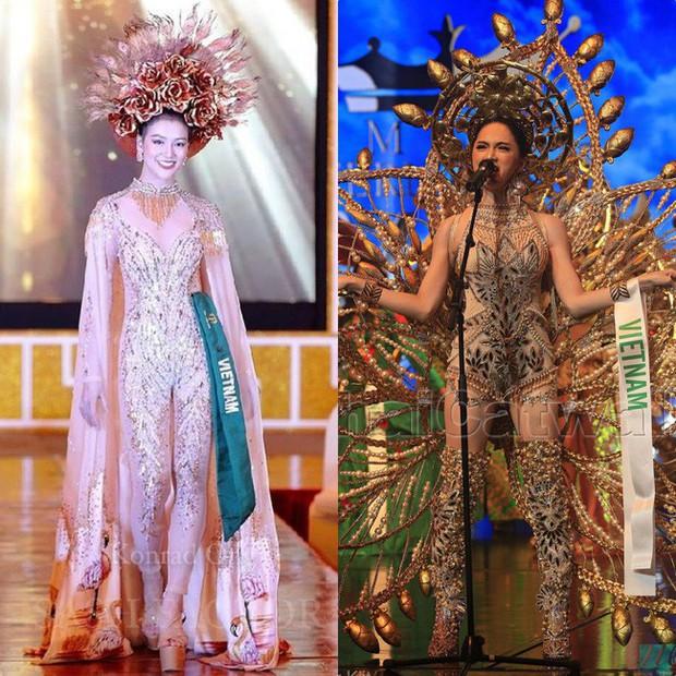 Đăng quang Hoa hậu tại 2 cuộc thi nhan sắc Quốc tế, style Phương Khánh và Hương Giang có khá nhiều điểm chung thú vị - Ảnh 8.