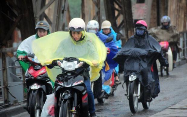 Hôm nay không khí lạnh tràn về, thời tiết Bắc Bộ giảm mạnh còn 15 độ - Ảnh 1.