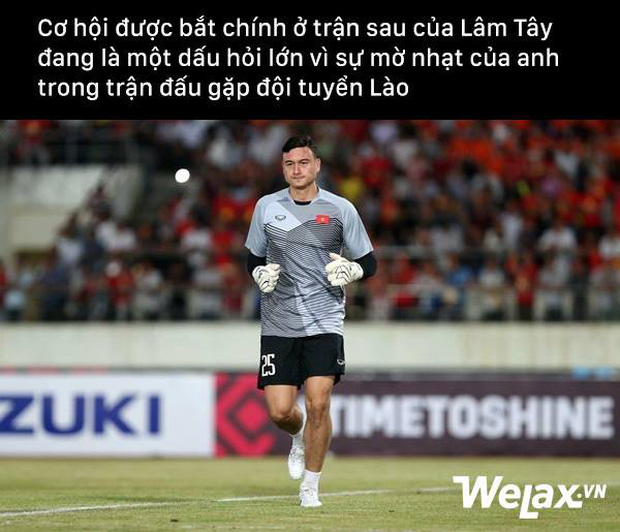 Thủ môn Đặng Văn Lâm trận Lào Việt Nam AFF CUP: Chẳng có gì để bắt cả - Ảnh 2.