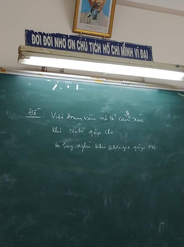 Seri những thầy cô mặn hơn muối biển: Thông báo nghỉ học thôi mà vẽ ra drama bi kịch như phim Hàn - Ảnh 10.