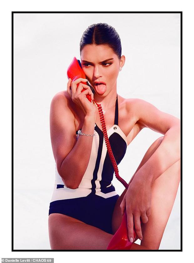 Kendall Jenner - thiên thần Victoria's Secret tung bộ ảnh đầy gợi cảm - Ảnh 4.
