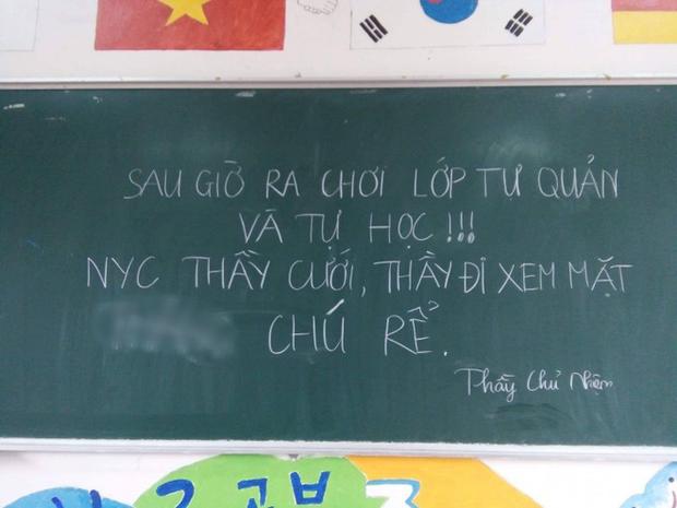 Seri những thầy cô mặn hơn muối biển: Thông báo nghỉ học thôi mà vẽ ra drama bi kịch như phim Hàn - Ảnh 6.