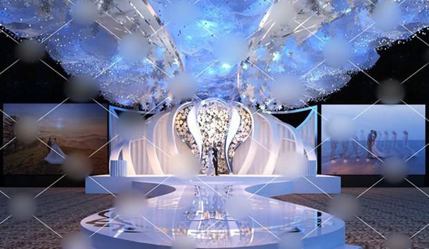 Xôn xao đám cưới trang trí hết 4 tỷ đồng ở Thái Nguyên, mời cả Đan Trường, Quang Hà về biểu diễn - Ảnh 1.