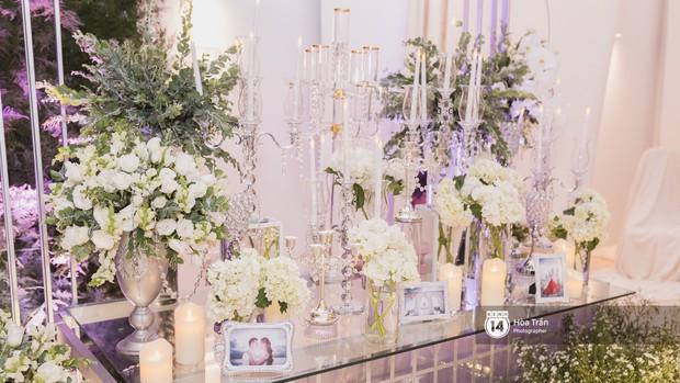 Không gian đám cưới sang trọng, ngập tràn sắc hoa của Ưng Hoàng Phúc và Kim Cương - Ảnh 5.