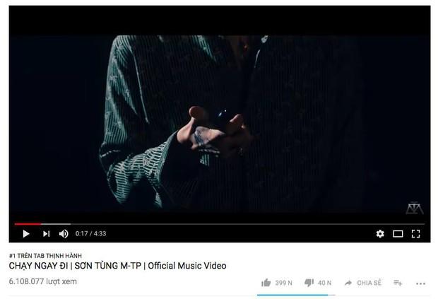 Loạt MV Vpop đình đám nhất năm 2018 mất bao lâu để leo lên vị trí No.1 Trending Youtube? - Ảnh 2.