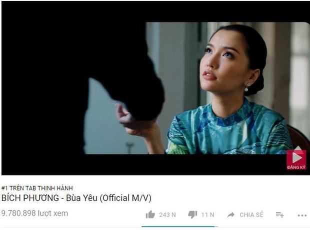 Loạt MV Vpop đình đám nhất năm 2018 mất bao lâu để leo lên vị trí No.1 Trending Youtube? - Ảnh 16.