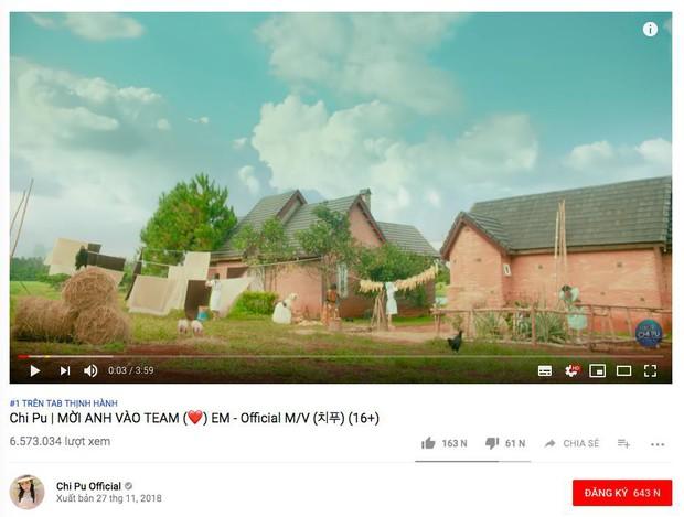 Loạt MV Vpop đình đám nhất năm 2018 mất bao lâu để leo lên vị trí No.1 Trending Youtube? - Ảnh 20.