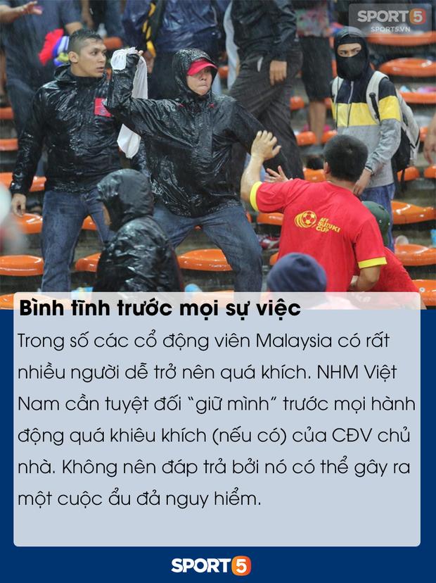 Những điều bạn cần lưu ý để tránh đổ máu khi đến Bukit Jalil cổ vũ tuyển Việt Nam đấu Malaysia - Ảnh 8.