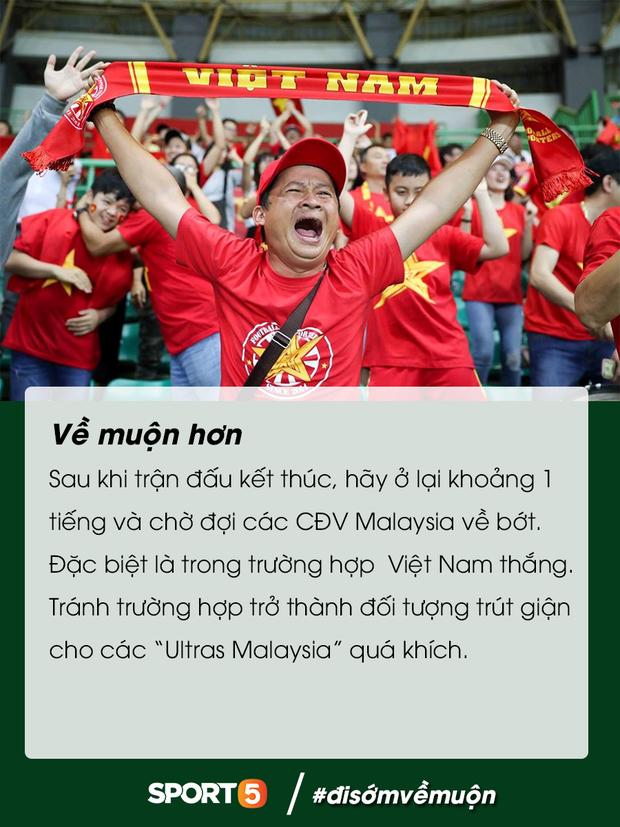 Những điều bạn cần lưu ý để tránh đổ máu khi đến Bukit Jalil cổ vũ tuyển Việt Nam đấu Malaysia - Ảnh 14.