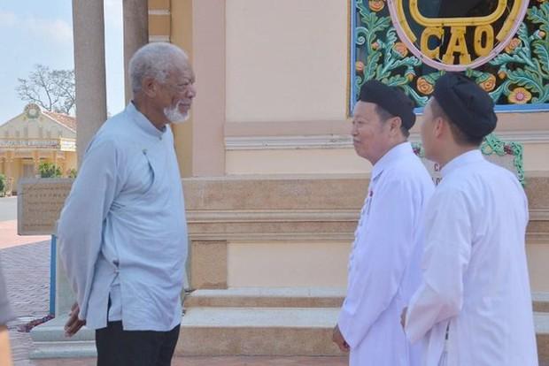 Chủ nhân tượng vàng Oscar Morgan Freeman đến Tây Ninh quay phim truyền hình - Ảnh 3.