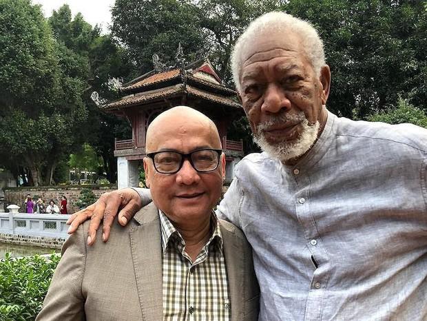 Chủ nhân tượng vàng Oscar Morgan Freeman đến Tây Ninh quay phim truyền hình - Ảnh 1.