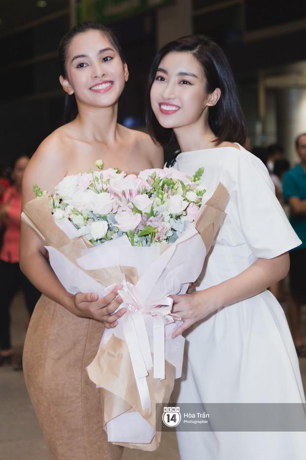 Trần Tiểu Vy trở về từ Miss World: Đỗ Mỹ Linh và Phương Nga đi đón- Ảnh 5.
