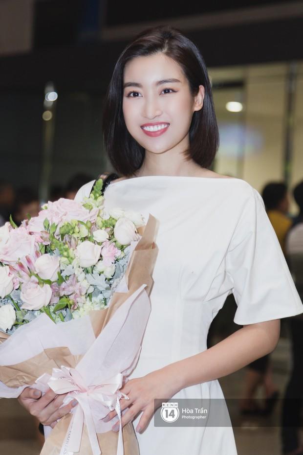 Trần Tiểu Vy trở về từ Miss World: Đỗ Mỹ Linh và Phương Nga đi đón  - Ảnh 4.